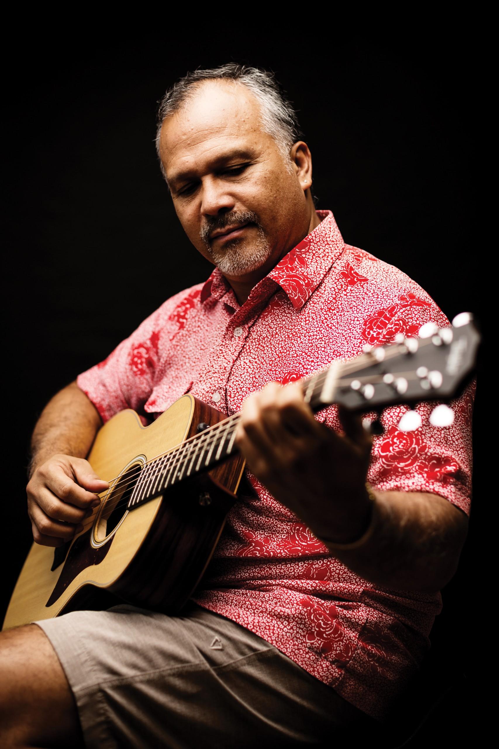 Nā Hoku Hanohano award-winning Hawaiian music artist Weldon Kekauoha.