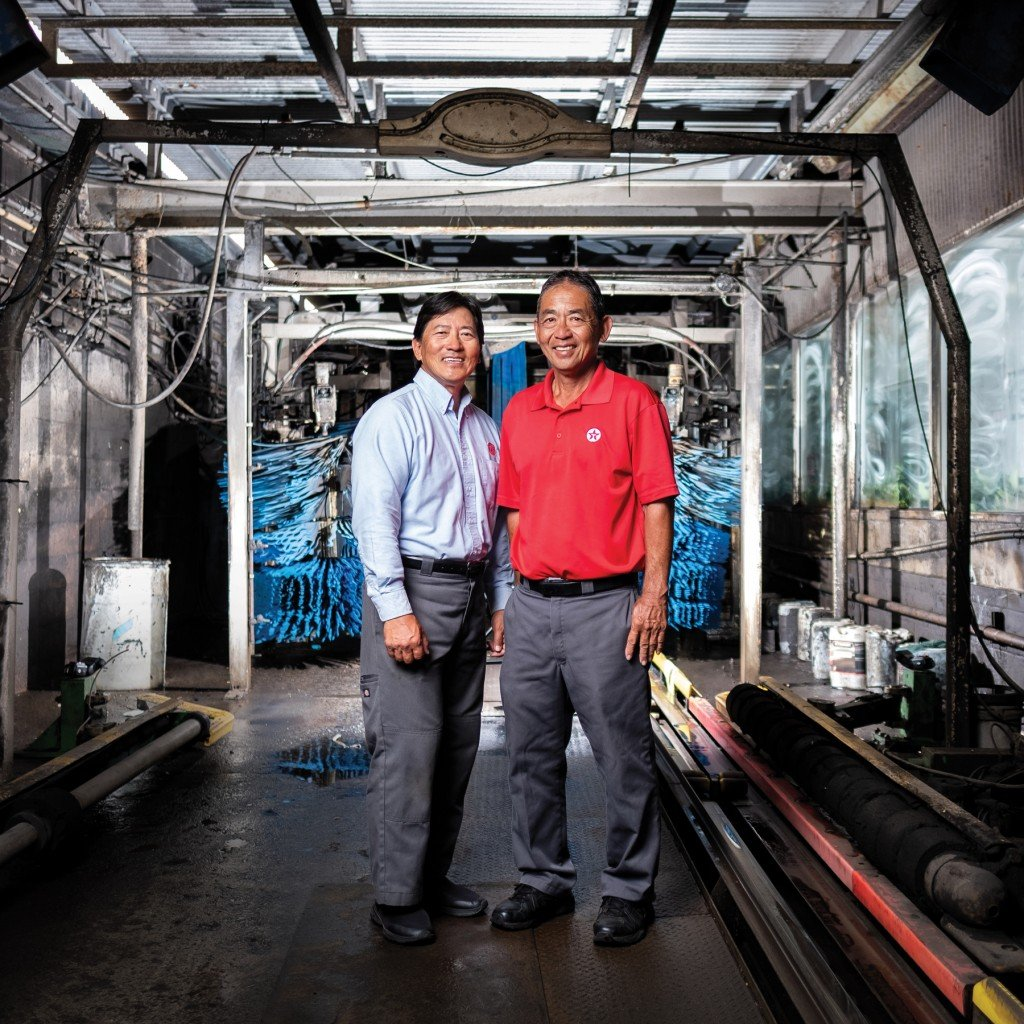 Craig and Max Yoshikawa of McKinley Car Wash