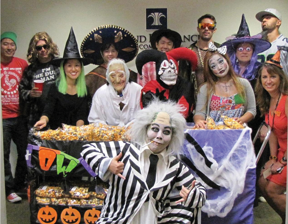 Halloween at Island Insurance.