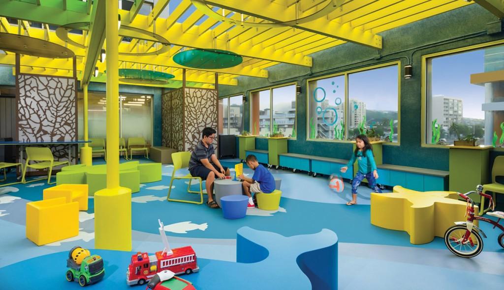 Kapiolani Medical Center for Women & Children Outdoor Playroom