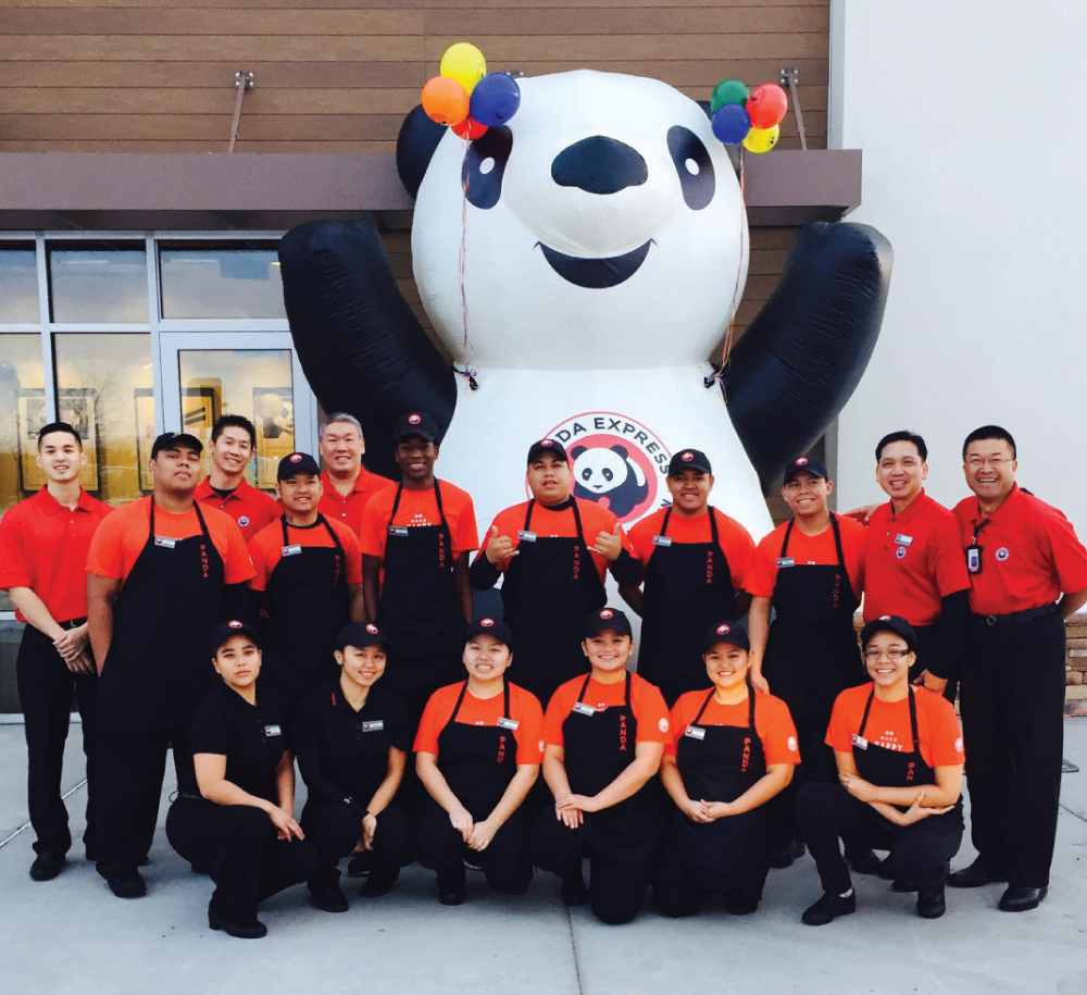 Panda first made the list of Hawaii's Best Places to Work in 2014, and has been on the list of large companies ever since. Photo courtesy of Panda Restaurant Group.