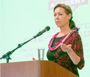 Cynthia Manley, president, Kaneohe Business Group. Photo by David Croxford.