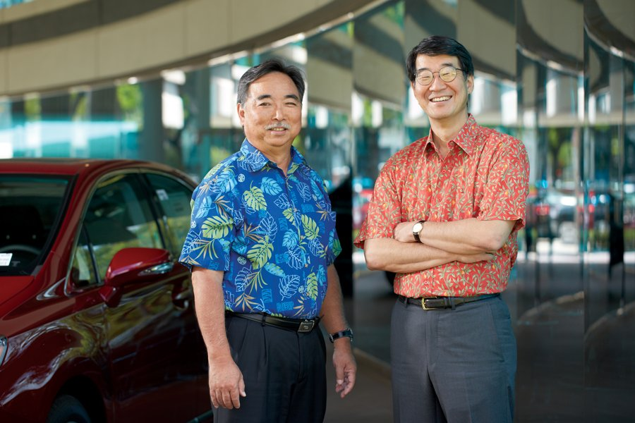 mark and eric fukunaga took over servco after both of their fathers died