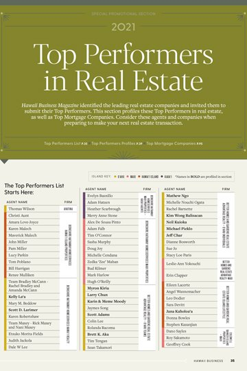 07 21 Top Performers In Real Estate Cover Web