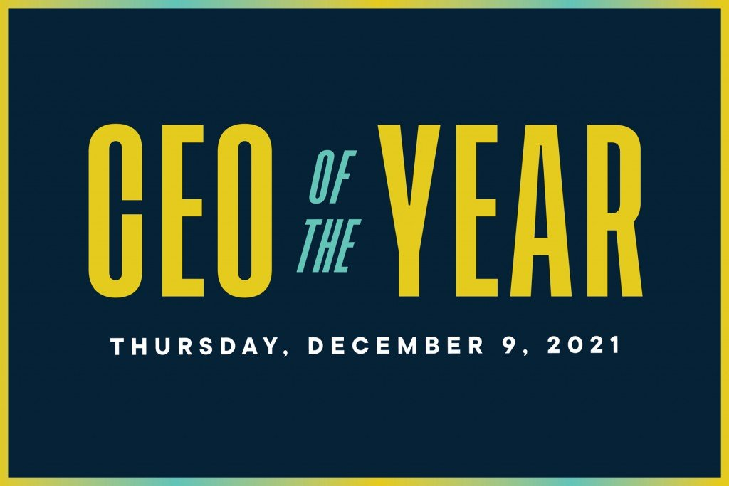 CEO of the Year happens on December 9, 2021.