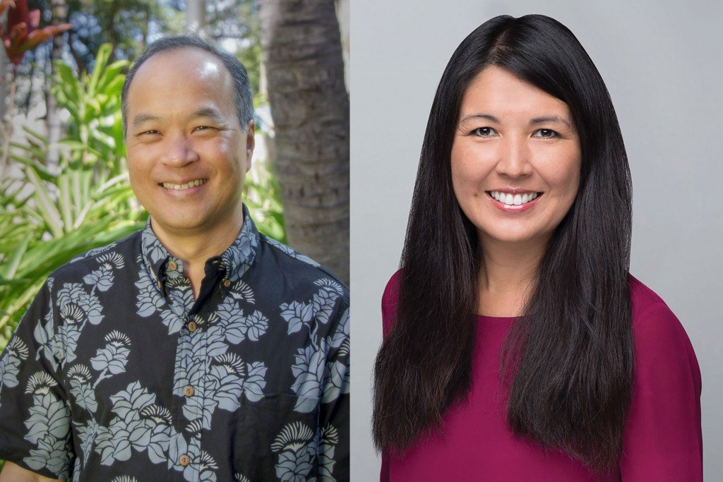 Scott Seu and Shelee Kimura, Hawaiian Electric Industries