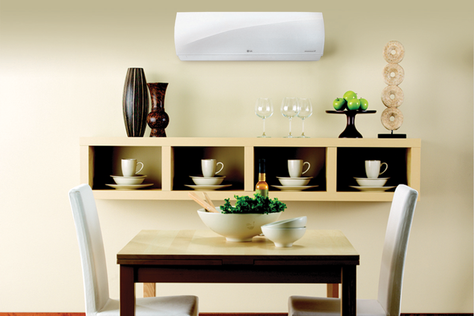 AC in dining room
