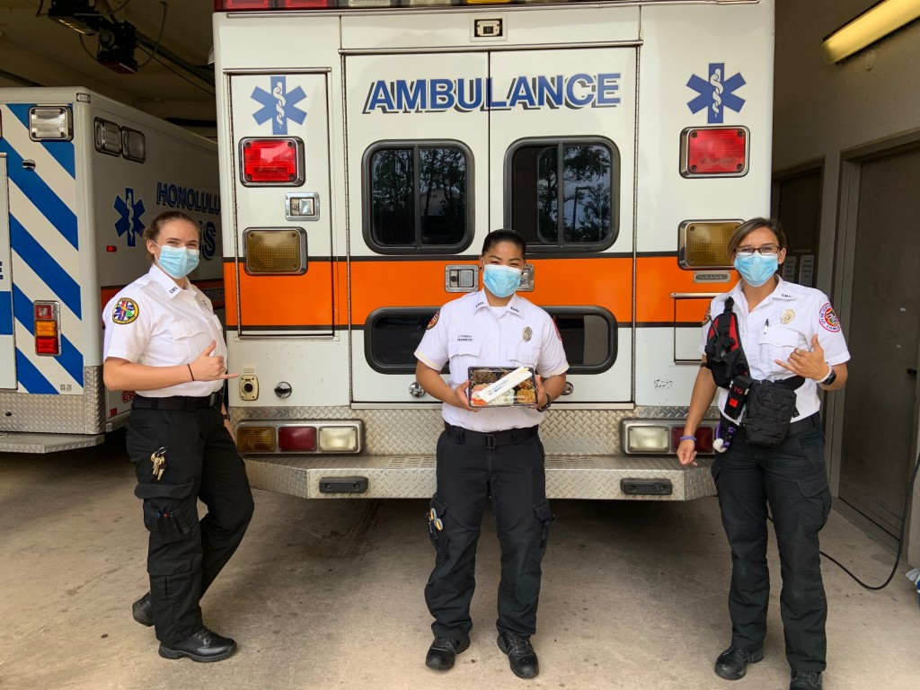 EMS workers