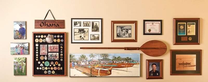 picture plus gallery wall