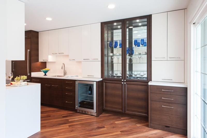 small townhome kitchen renovation