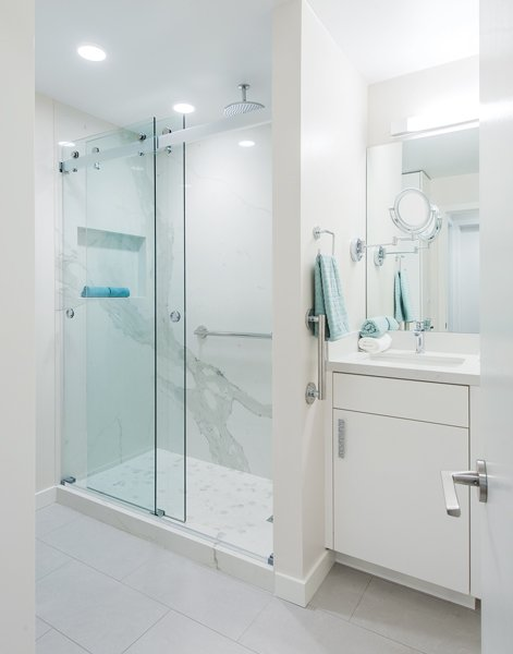 small townhome bathroom renovation