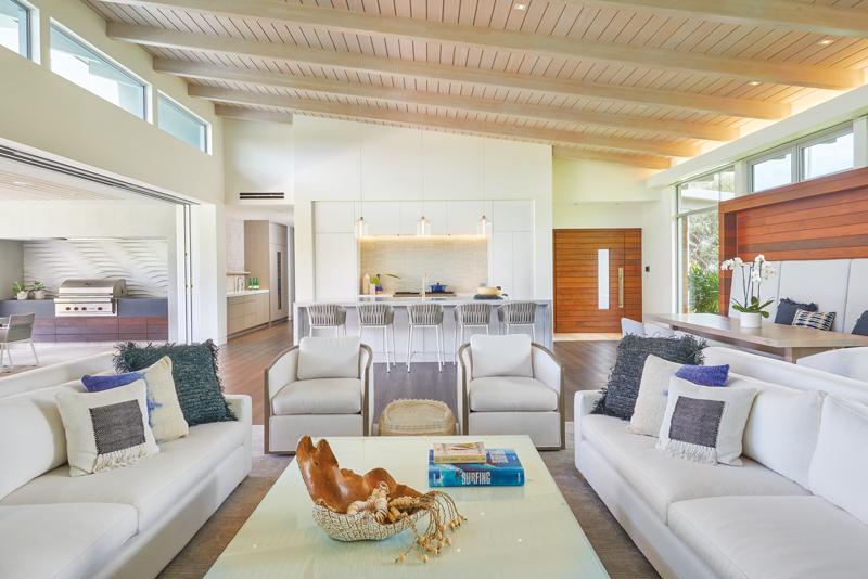 modern living room open concept