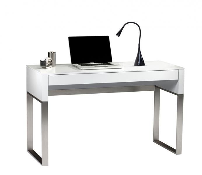 16-inch Three Watt Black LED Gooseneck Desk Lamp