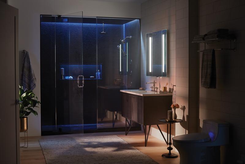 The KOHLER DTV+™ digital shower