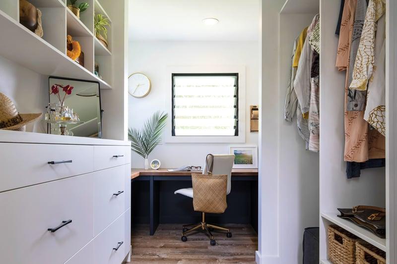 tiny home closet