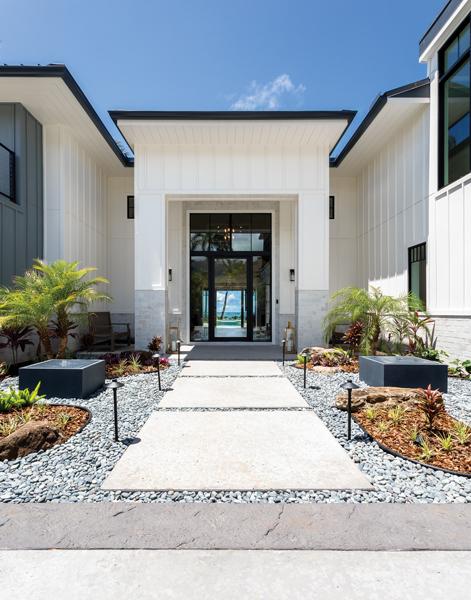 stunning home entrance