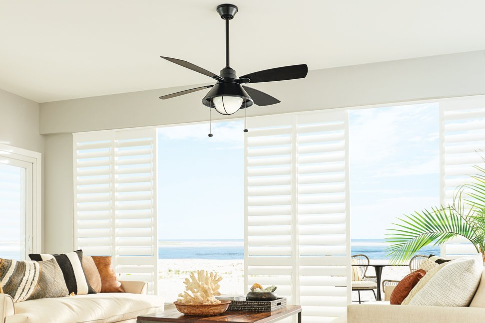 fashionable and functional ceiling fan