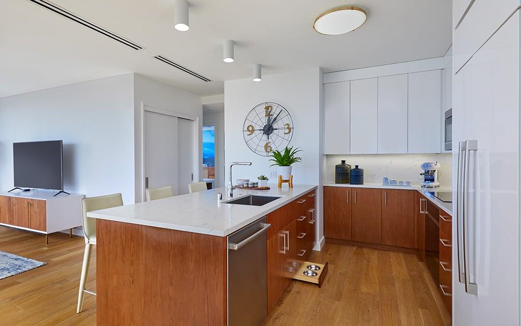 azure kitchen