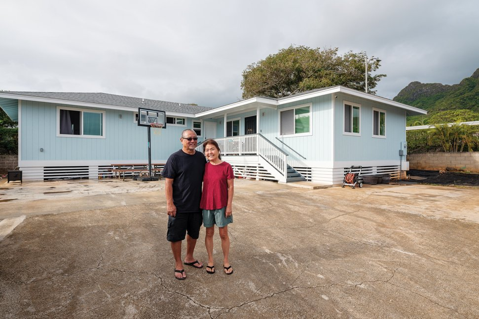 Results Construction Builds for Kamaaina Families