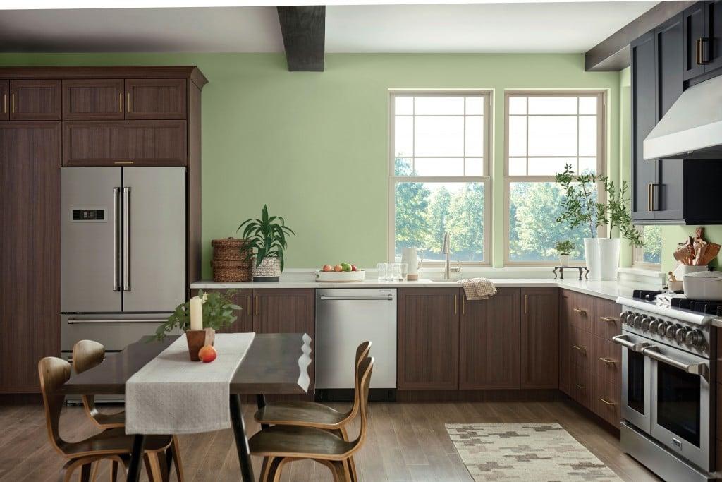 Webppg Olive Sprig Kitchen