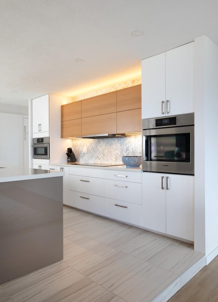 bright, airy kitchen remodel