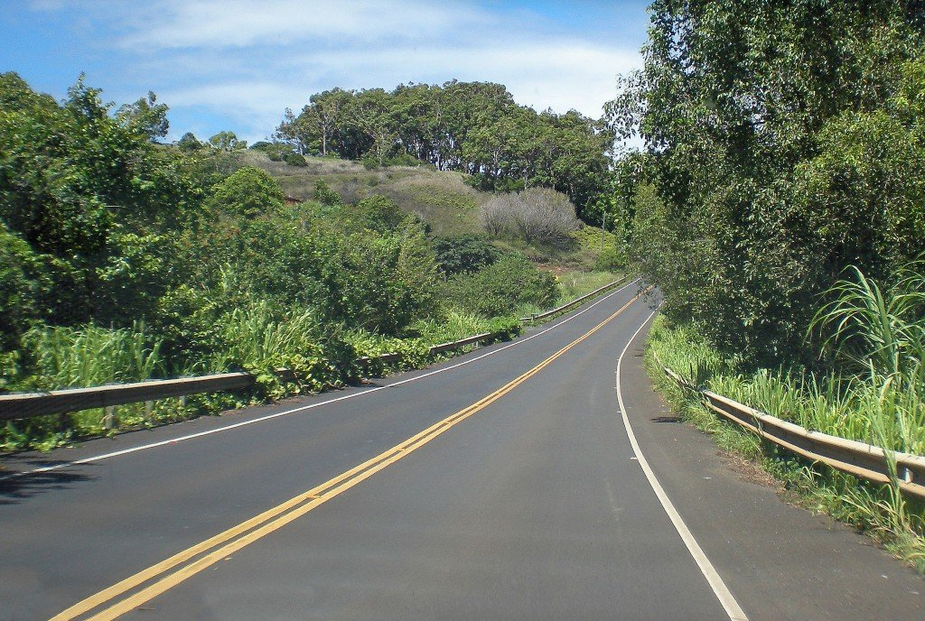 The Road To Hana, Trees, Plants, And Partly Cloudy Sky