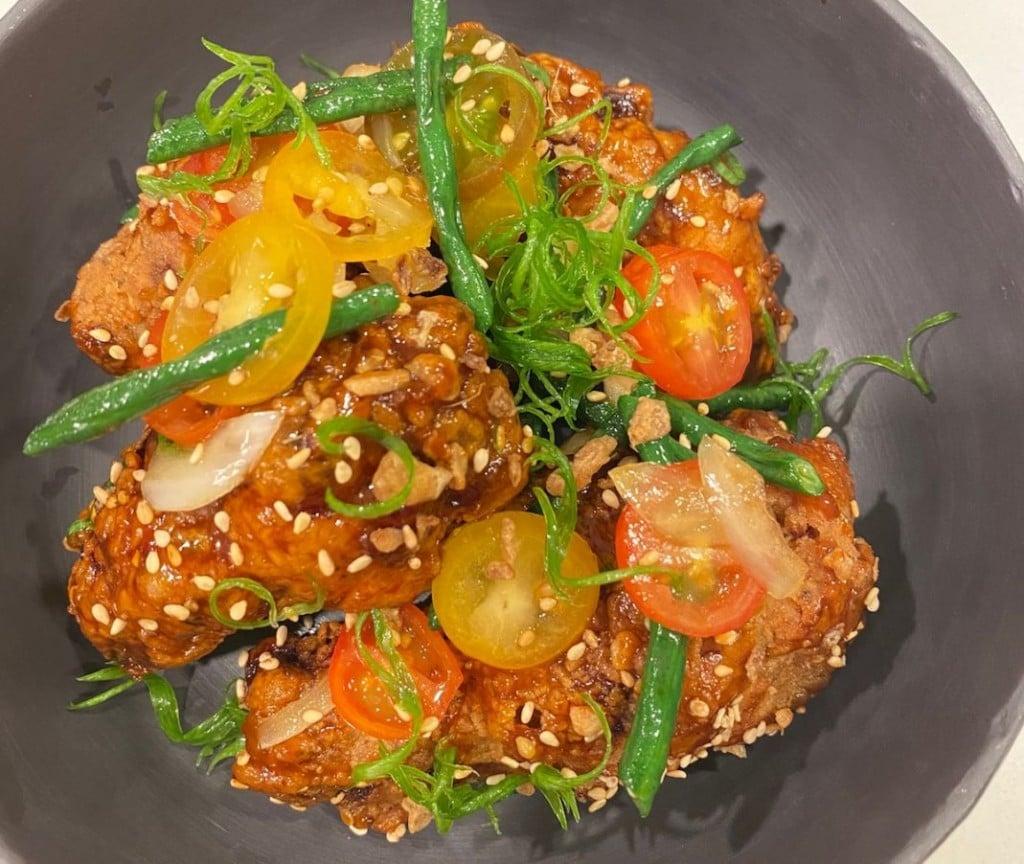 Colin's Garlic ʻKorean Style' Fried Chicken