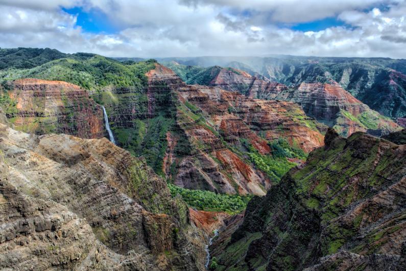 waimea canyon hike kukui trail
