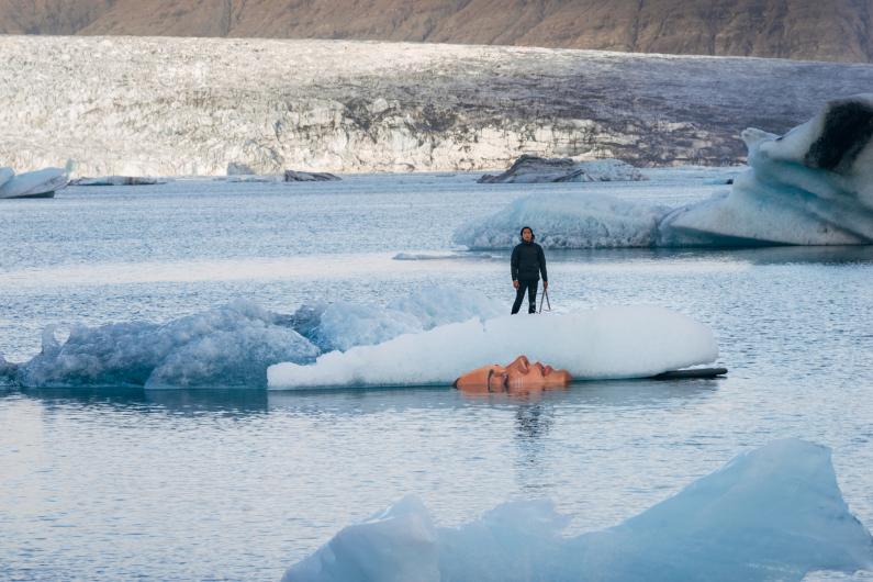 hula iceberg sean yoro paintings