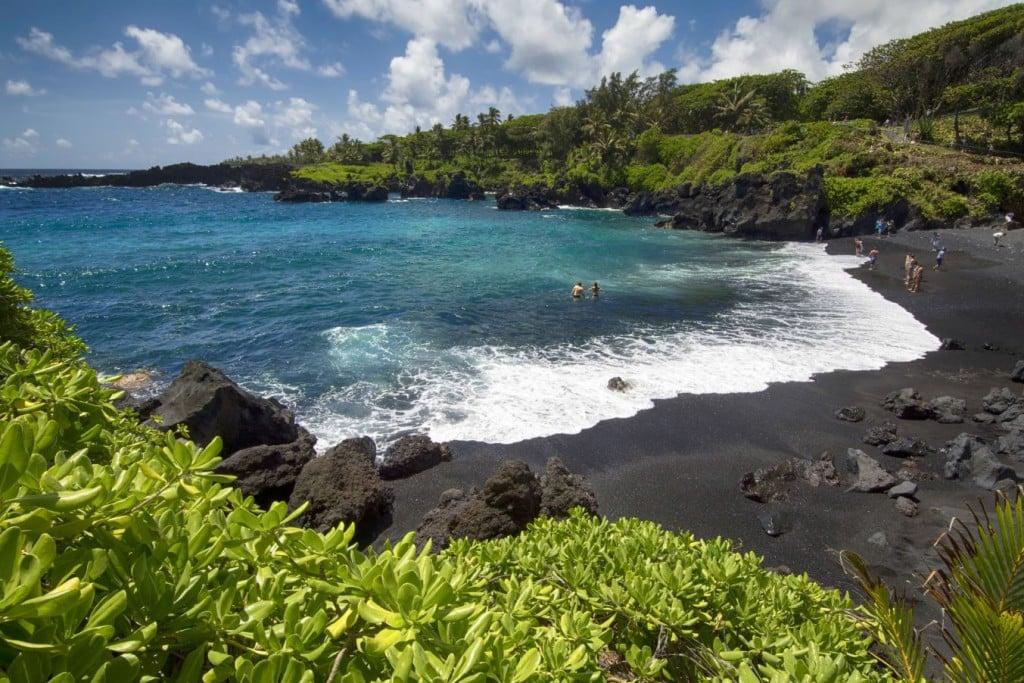Wai'ānapanapa Beach, Maui.