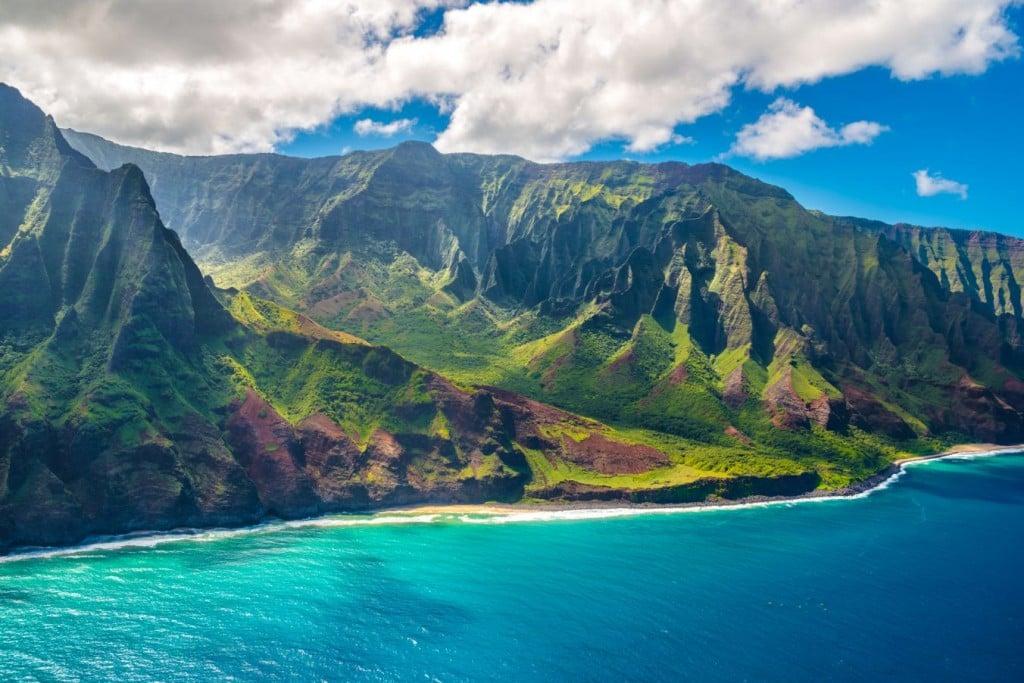 Na Pali Coast Getty Images