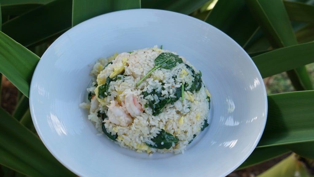 Garlic Shrimp Fried Rice