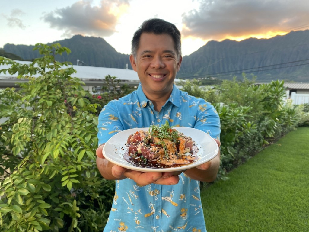 Chef Keoni Chang of Foodland Hawaiʻi