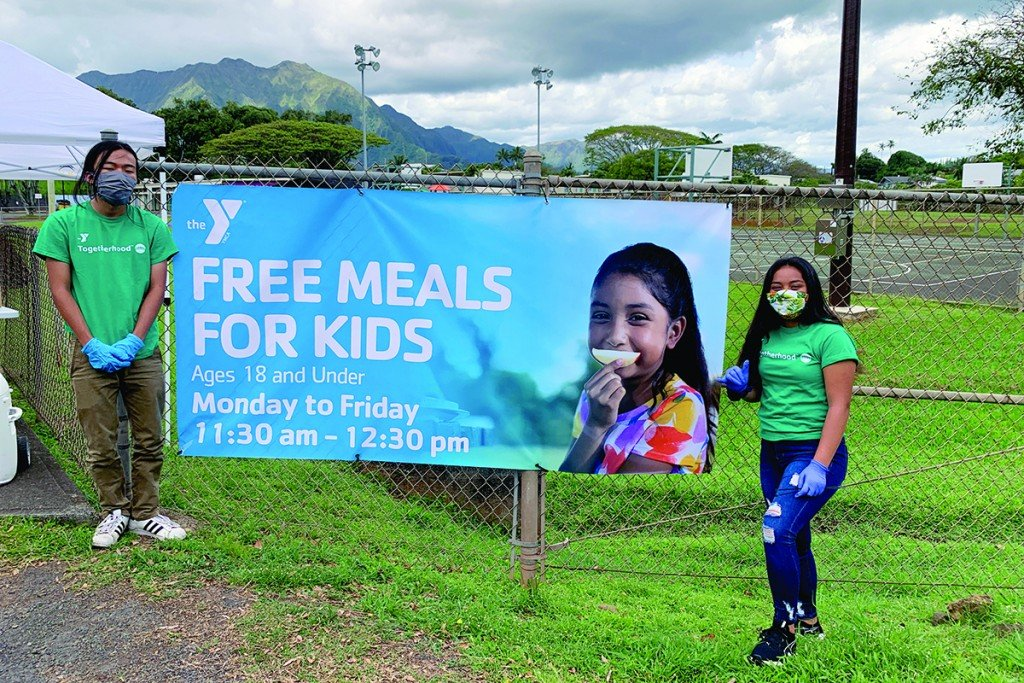 Hawaii_Gives_Back_Helpers_YMCA_Free_Meals_Kids