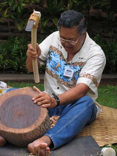 HawaiianWoodCarving