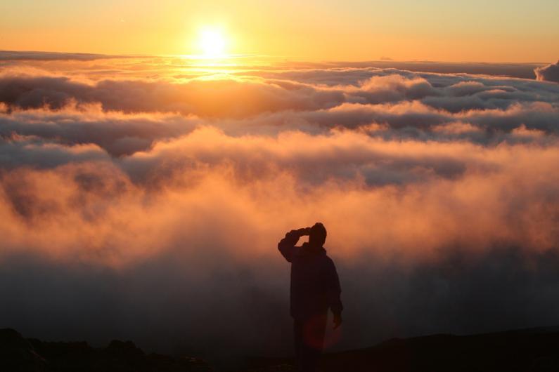 Sunrise at Haleakala. Photo: Ewen Roberts via Flickr