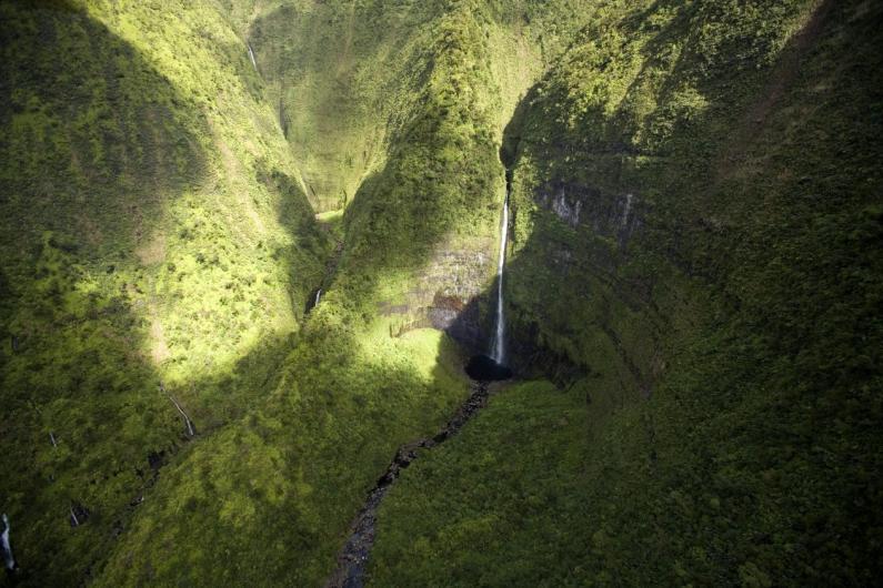 Hinalele Falls 2 Wainiha Valley