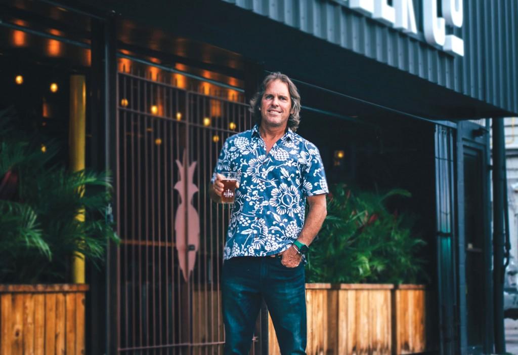 David Campbell Aloha Beer Co.