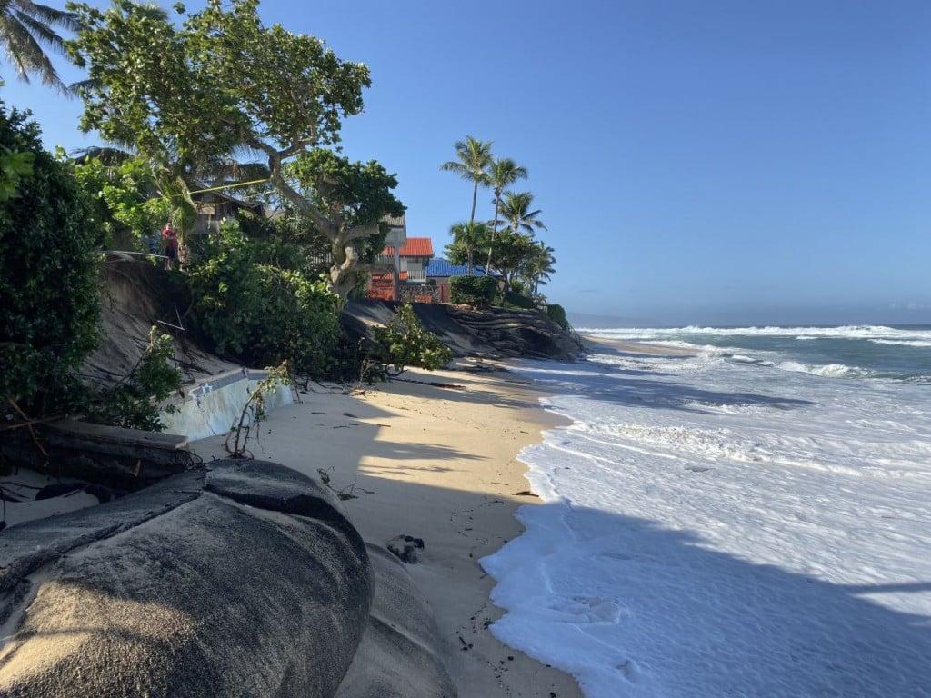 Hawaii Disappearing Beaches