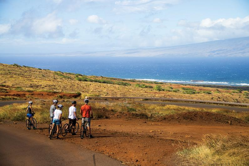 lanai cycles bike tour