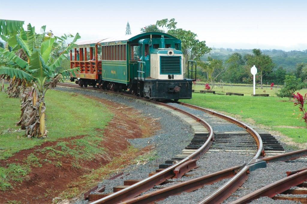 kauai train plantation railroad