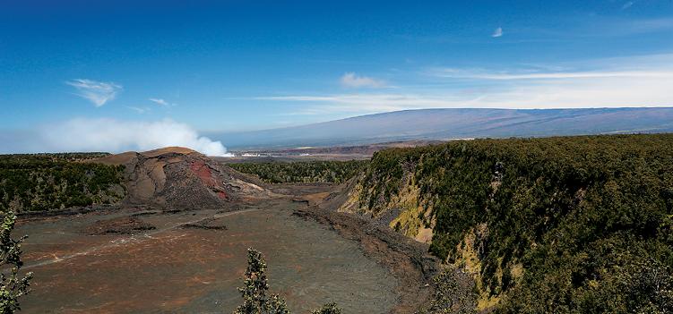 Kilauea Iki and Halemaumau_M
