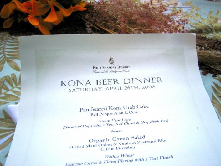 Koele menu