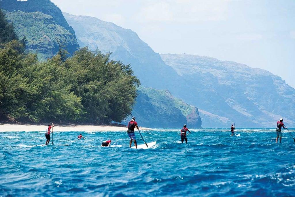 Napali Paddleboard Race