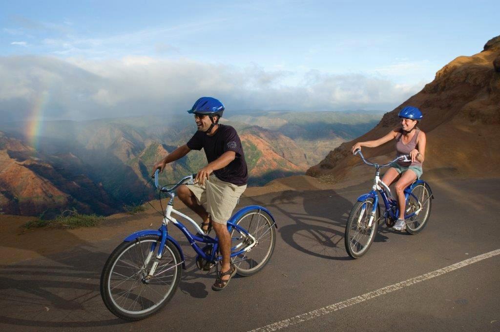 kauai waimea canyon biking