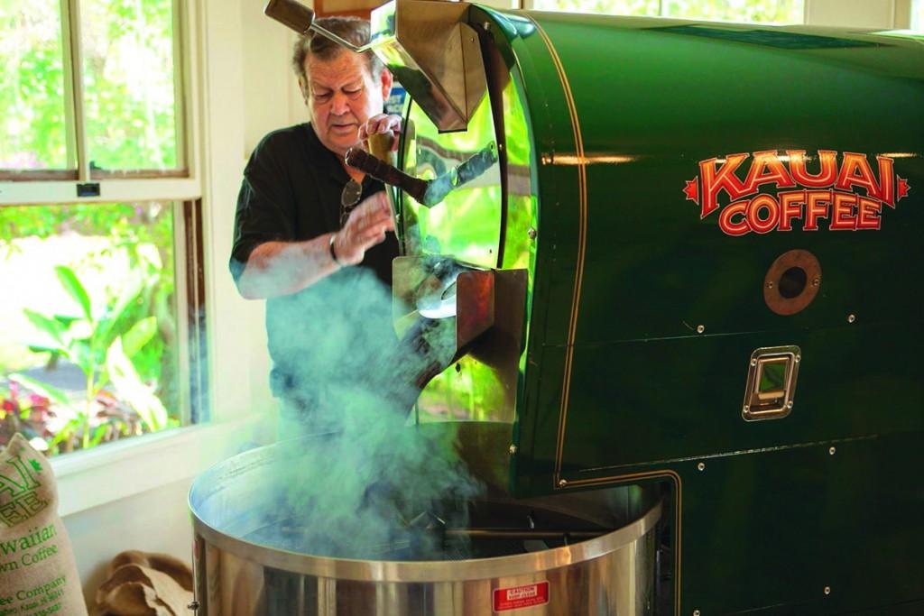 kauai coffee roasting