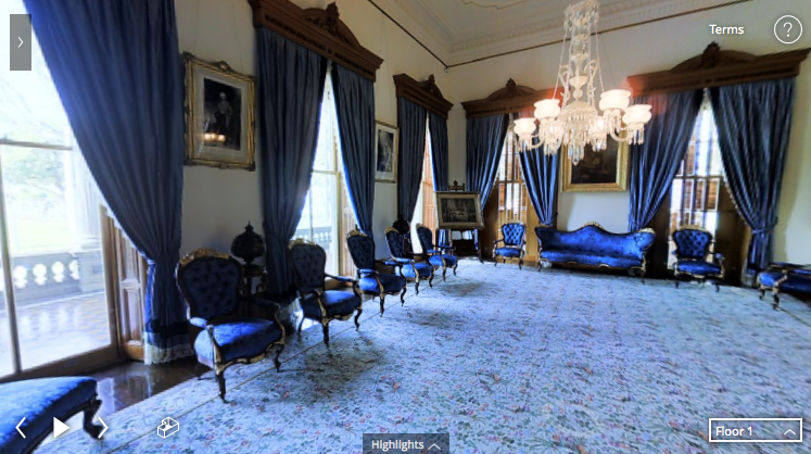 iolani palace virtual reality tour