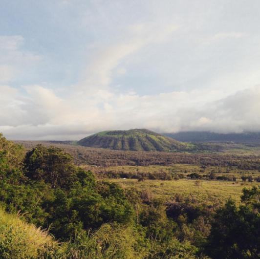 puu waawaa hiking hawaii