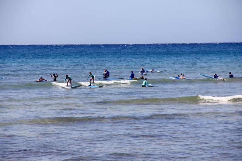 surf schools kihei kalama beach maui