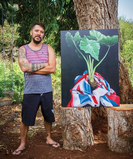 artist aaron kawaiaea